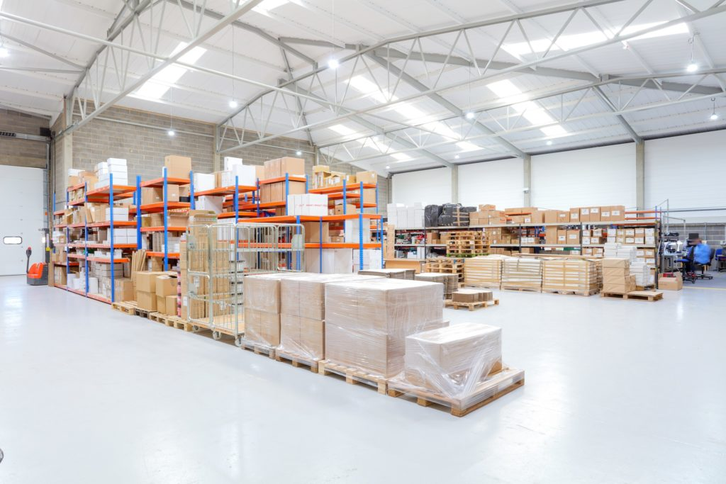 Image of the Haes Technologies warehouse