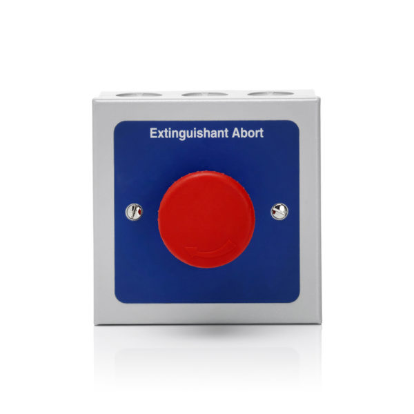 Image of Esprit Remote Abort Button Metal
