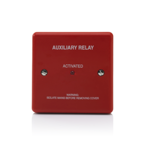 Image of Red Boxed Auxiliary Relay