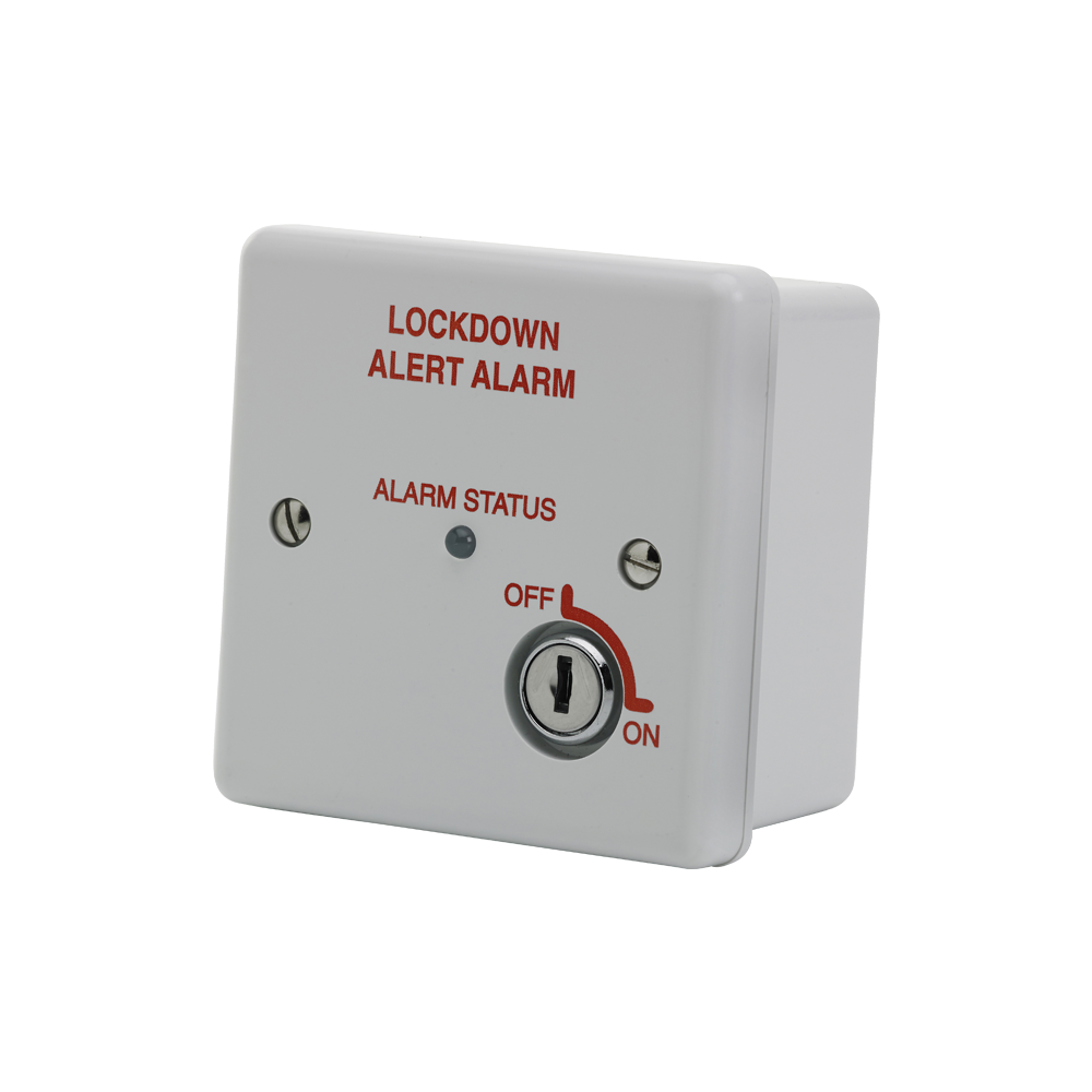 Image of White Lockdown Alarm Pulsing Relay