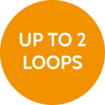 Up to 2 loops