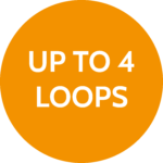 Up to 4 loops